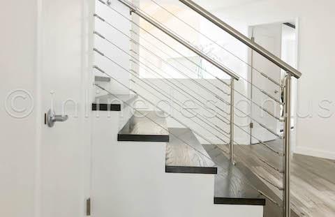 side view wall terminating railing