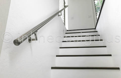staircase handrail zoom