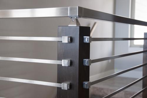 stainless steel bar railing bracket
