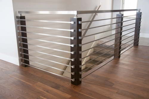 stainless steel bar railing diy
