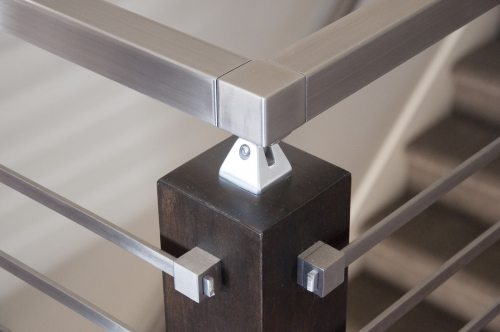 stainless steel bar railing handrail bracket