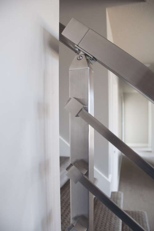 stainless steel bar railing modern