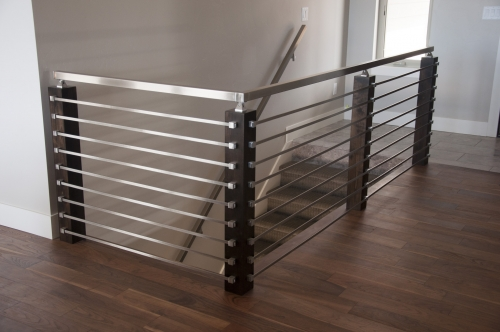 stainless steel bar railing outdoor