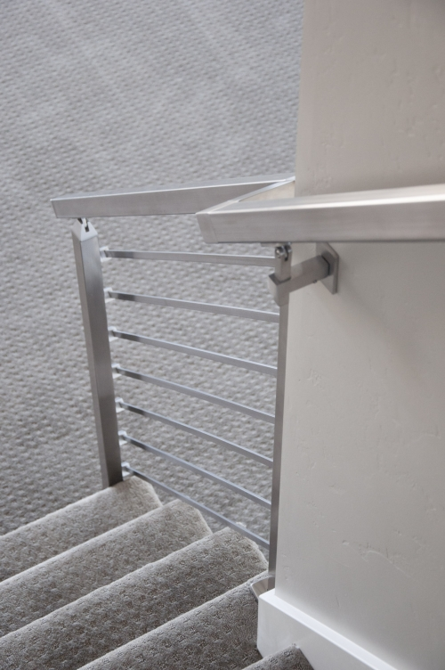 stainless steel bar railing residential