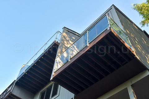 railing glass balcony