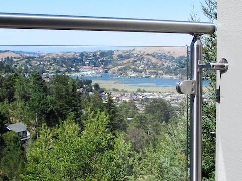 glass railing handrail bracket