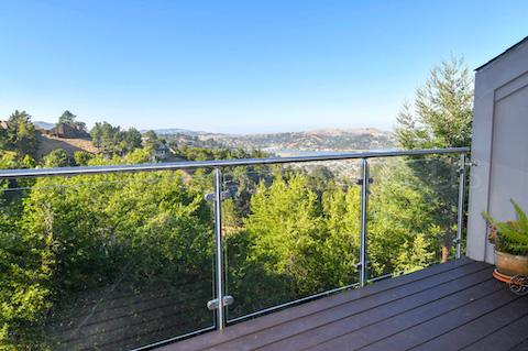 lake railing