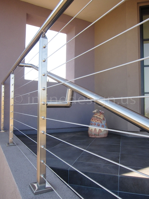 stainless steel cable railing square arizona