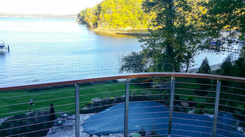 lake view guardrail