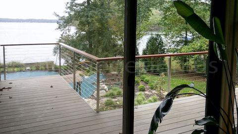 lake view railing