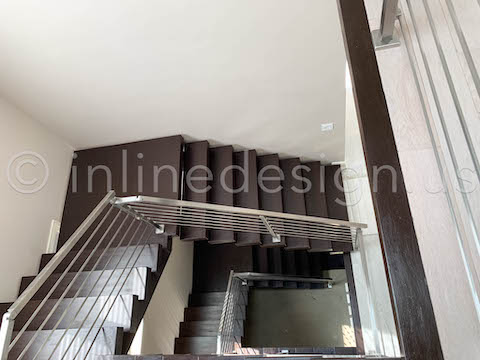 Upper View Stair Railing