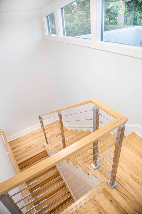 cable railing stair