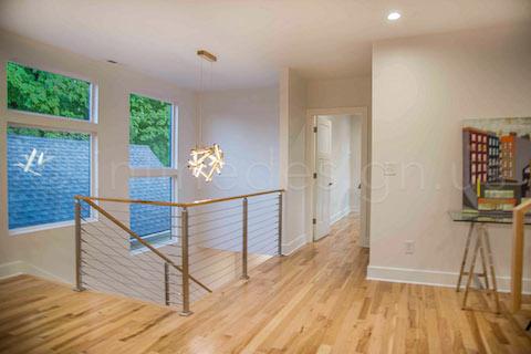 modern house railing