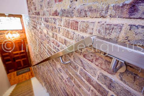 beautiful railing stairs interior