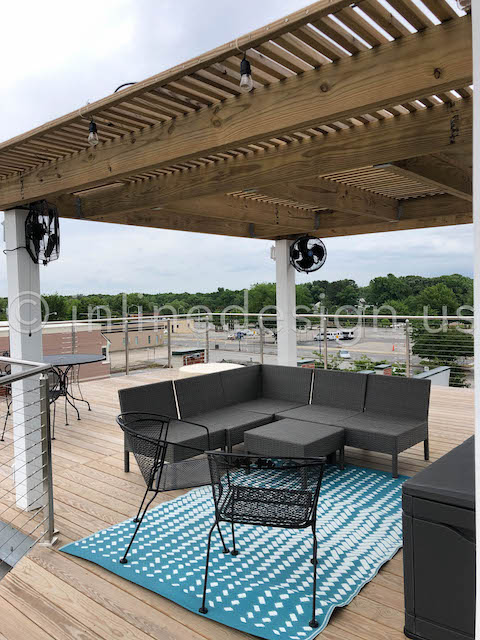 cable railing deck exterior