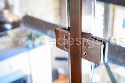 chicago square glass railing zoom