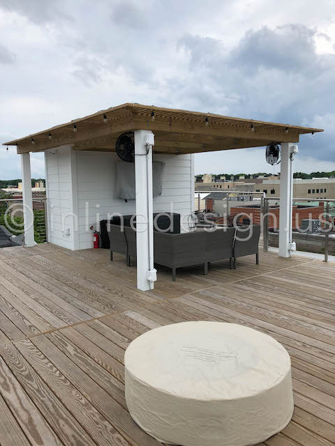 deck railing exterior