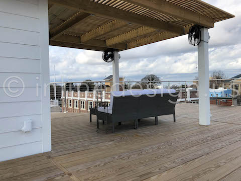 exterior deck cable railing