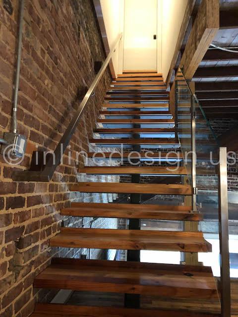 handrail stairs interior railing