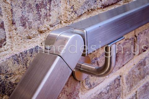 interior handrail square railing