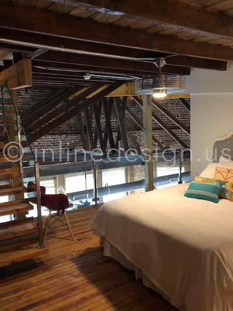 loft railing interior