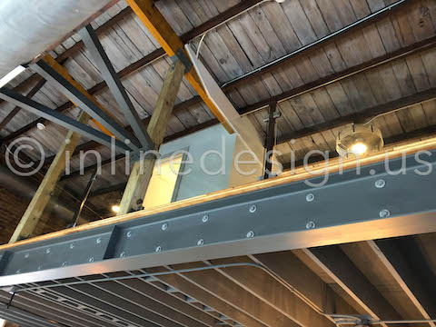 loft view railing interior