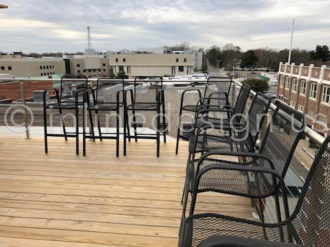 outside deck railing patio