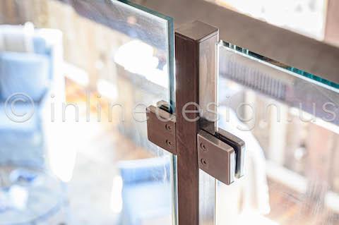 zoom in square handrail