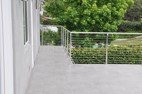 stainless steel railing square guardrail