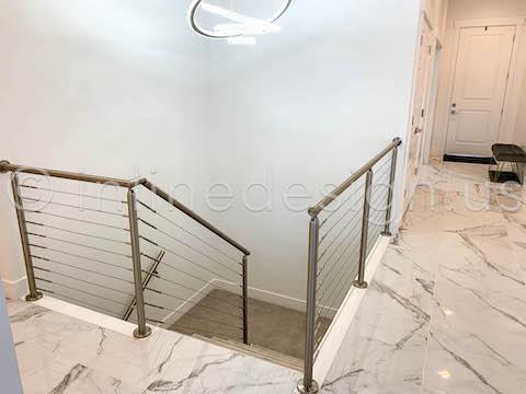 beautiful entry handrail railing