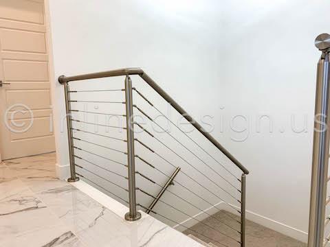 staircase railing handrail