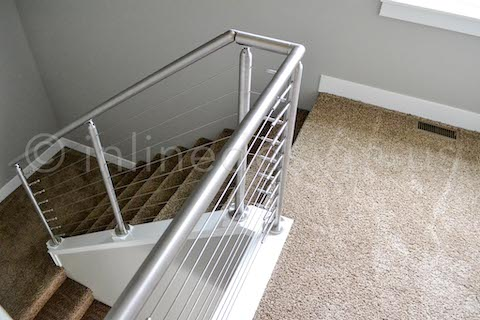 angle mount staircase