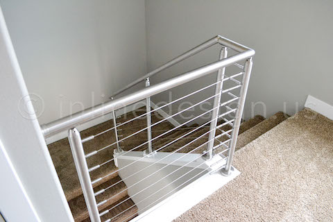 cable railing downstairs