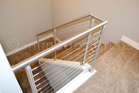 cable railing round steel
