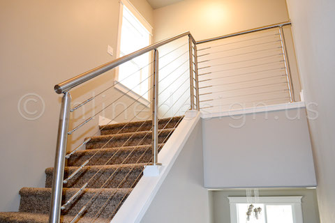 cable railing upstairs