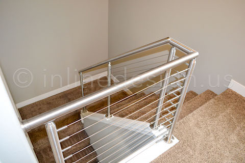 railing stairs cable