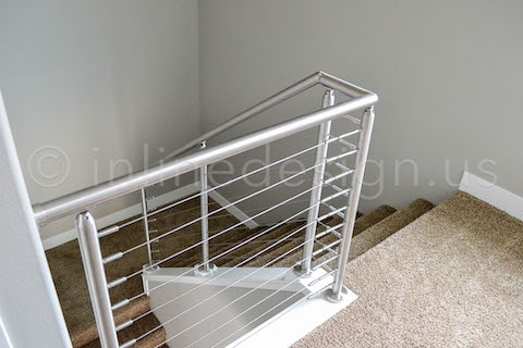 stairs cable railing